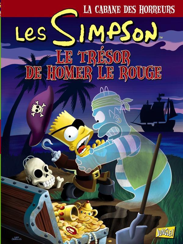 Les Simpson ; La Cabane Des Horreurs T.4 ; Homer Le Rouge
