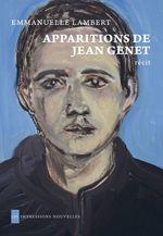 Vente Livre Numérique : Apparitions de Jean Genet  - Emmanuelle Lambert