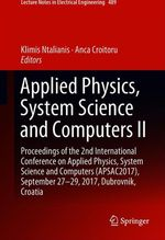 Applied Physics, System Science and Computers II  - Anca Croitoru - Klimis Ntalianis