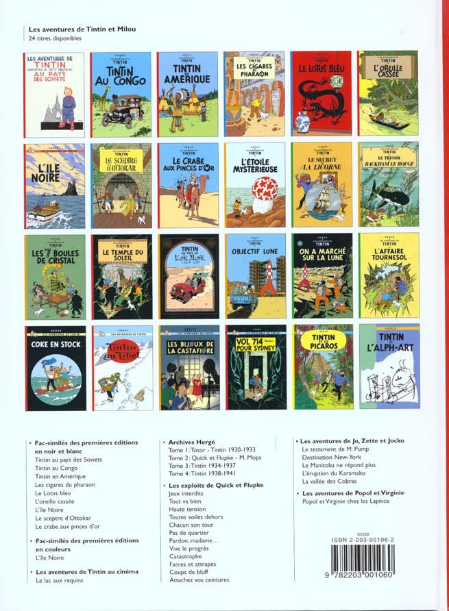 Les aventures de Tintin t.7 ; l'île noire