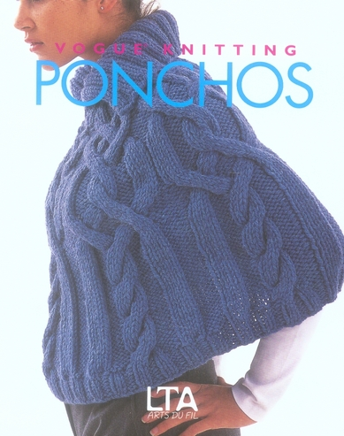 Ponchos au tricot