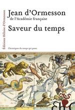 Vente EBooks : Saveur du temps  - Jean d'Ormesson