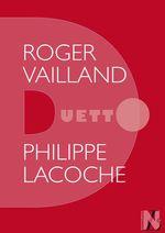Vente Livre Numérique : Roger Vailland - Duetto  - Philippe Lacoche