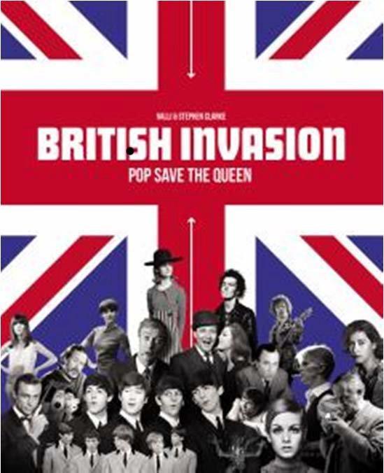 British invasion coffret livre/dvd ; pop save the Queen