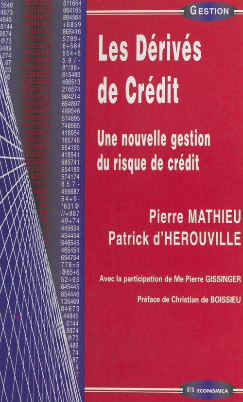 Les derives de credit