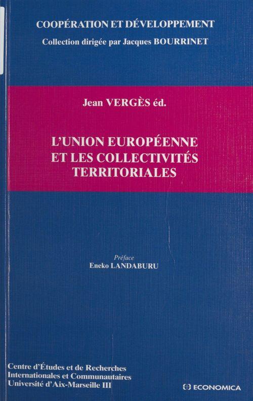 L'union européenne et les collectivités territoriales