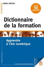 Vente Livre Numérique : Dictionnaire de la formation  - Denis Cristol