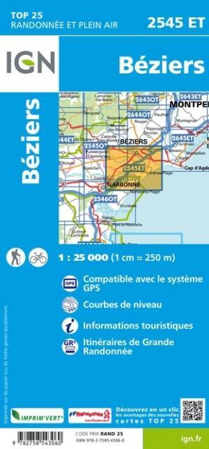 2545ET ; Béziers (4e édition)