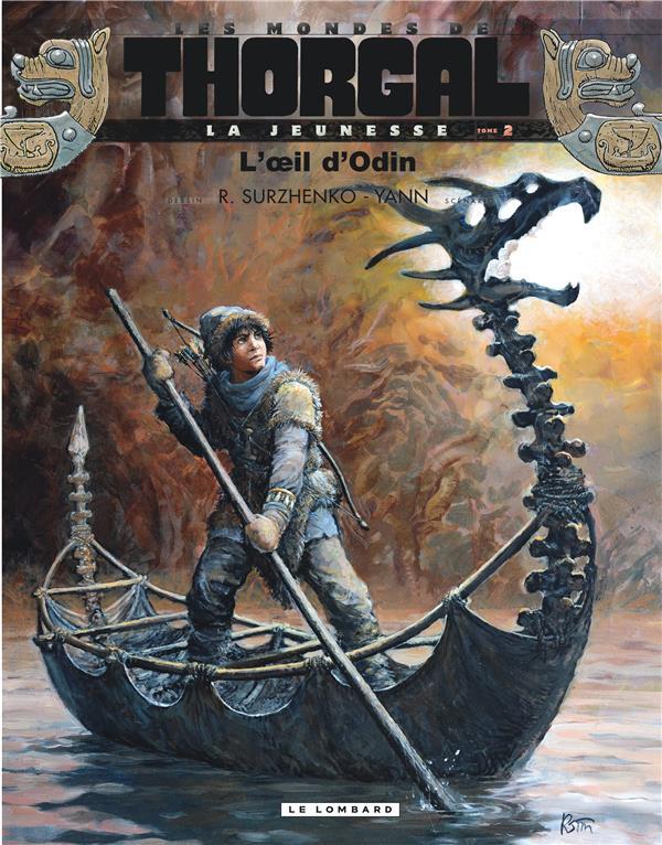 Les mondes de Thorgal - la jeunesse de Thorgal T.2 ; l'oeil d'Odin