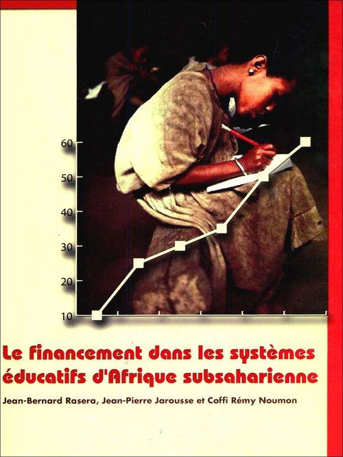 Le financement dans les systèmes éducatifs d'Afrique subsaharienne