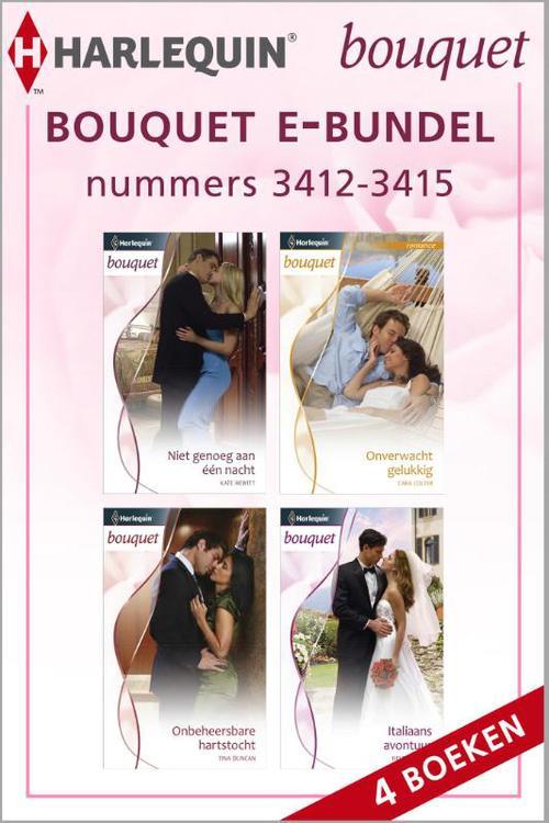 Bouquet e-bundel nummers 3412-3415 (4-in-1)