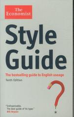 Style guide - the bestselling guide to english useage