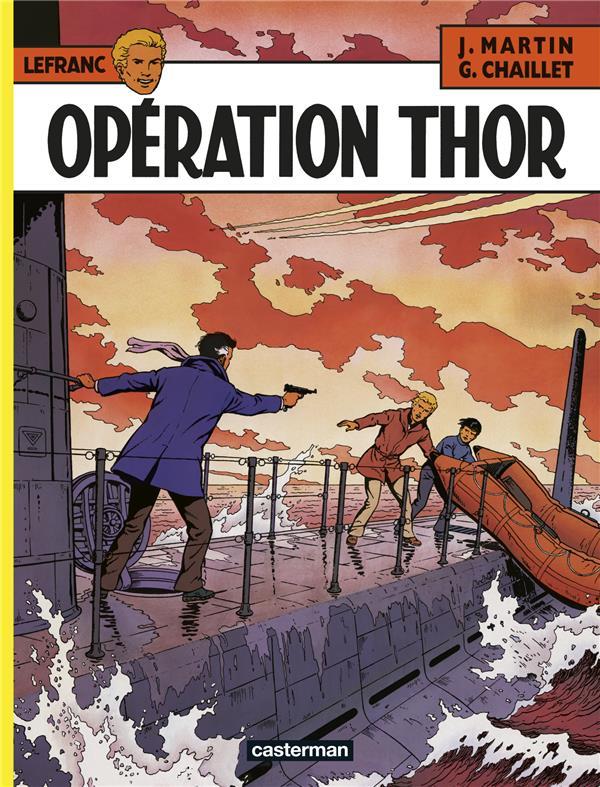 Lefranc T.6 ; opération Thor
