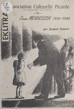 Jean Mennesson, 1916-1945