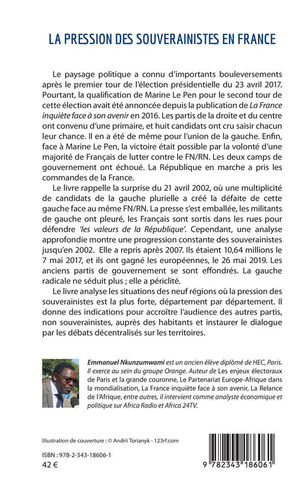 La pression des souverainistes en France