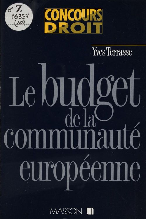 Budget de la comm europeenne