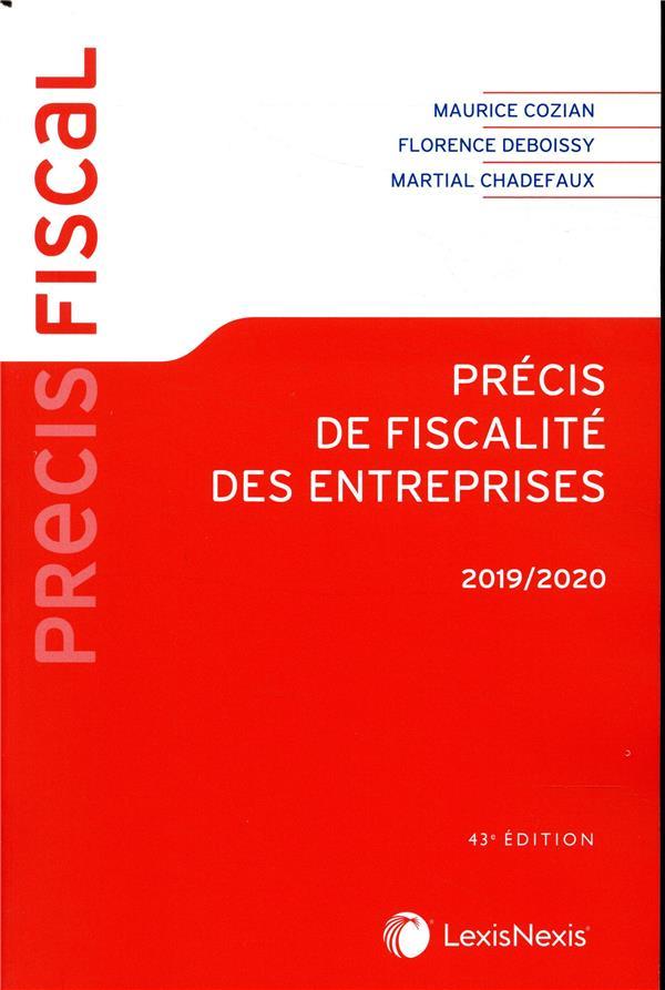 Précis de fiscalité des entreprises (édition 2019/2020)