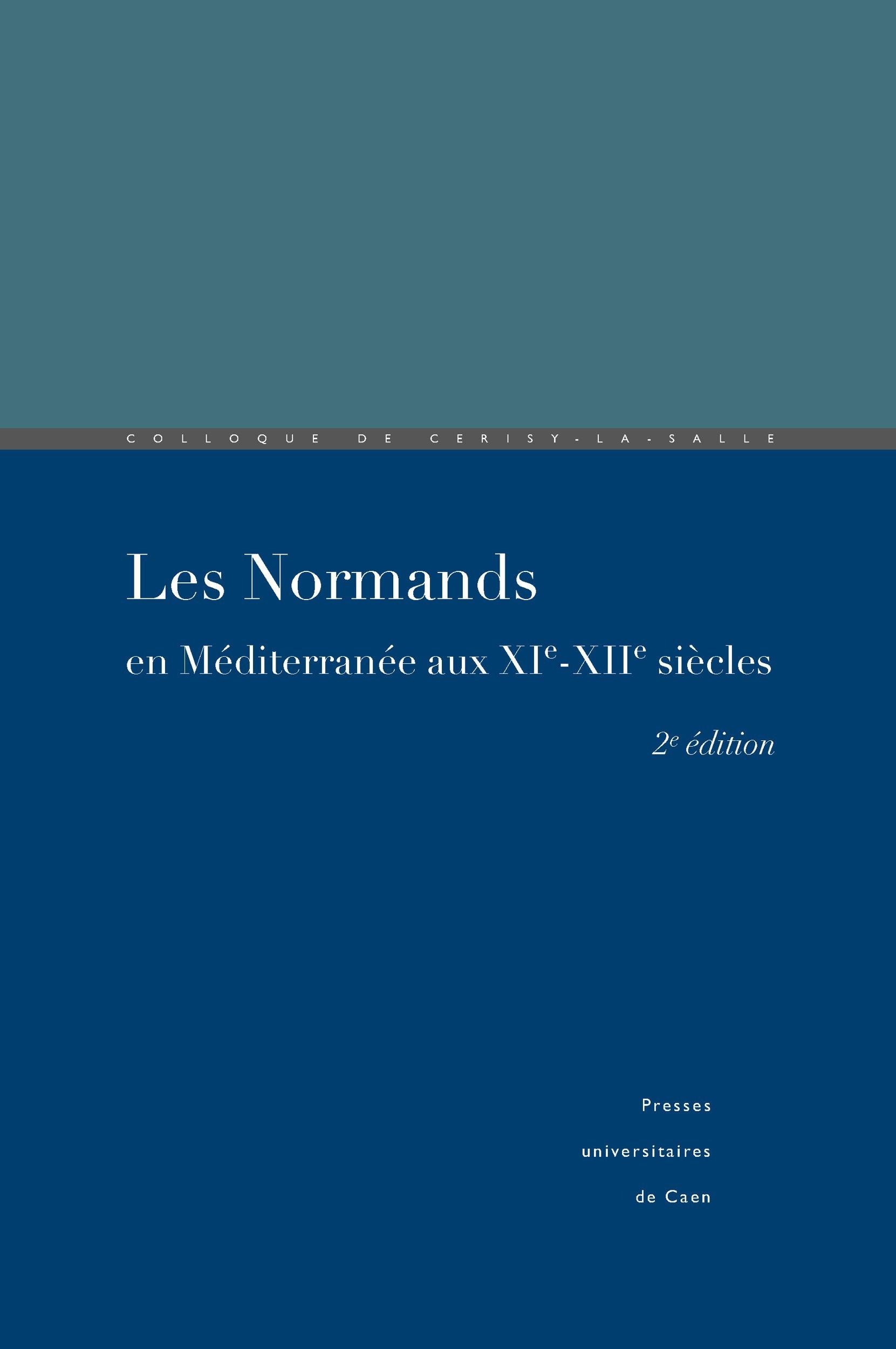 Les Normands en Méditerranée aux XIe-XIIe siècles
