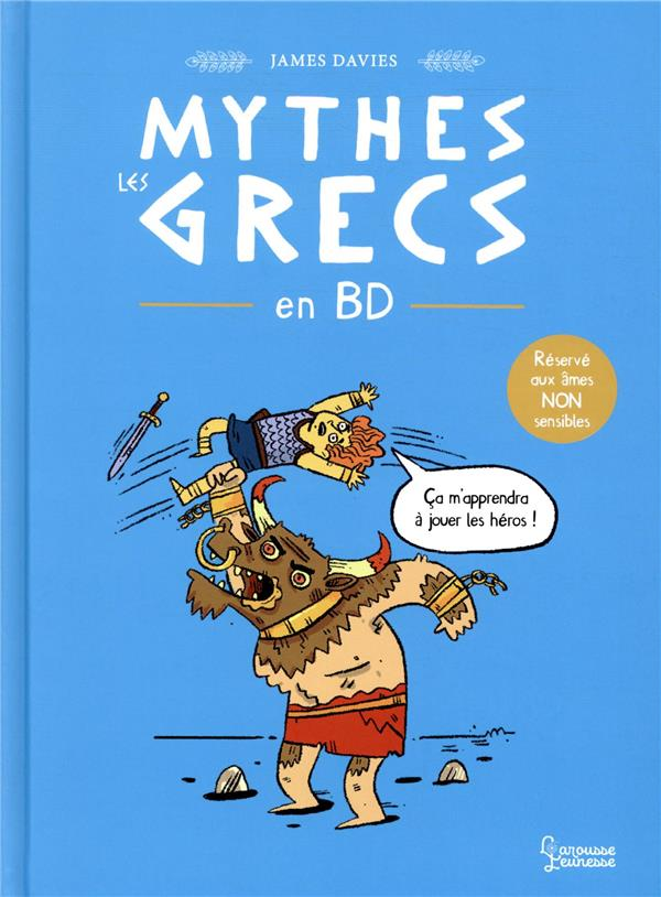 Mythes grecs en bd