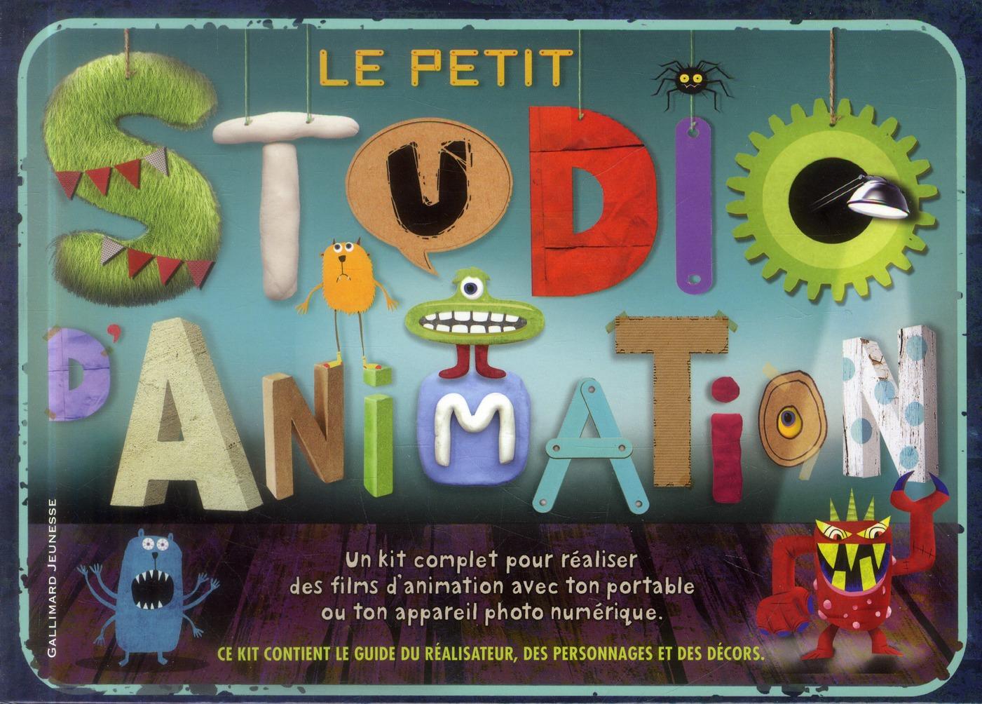 Le petit studio d'animation ; coffret