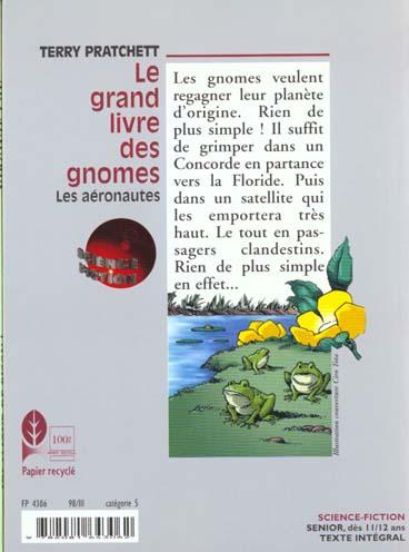 le grand livre des gnomes t.3 ; les aéronautes