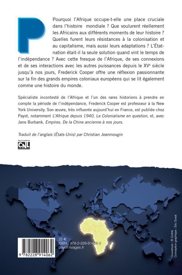 L'Afrique dans le monde ; capitalisme, empire, Etat-nation