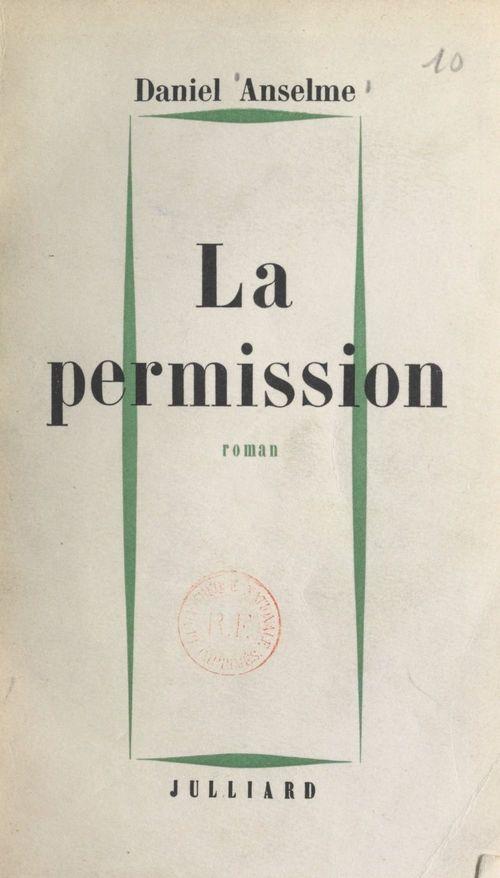 La permission  - Daniel Anselme