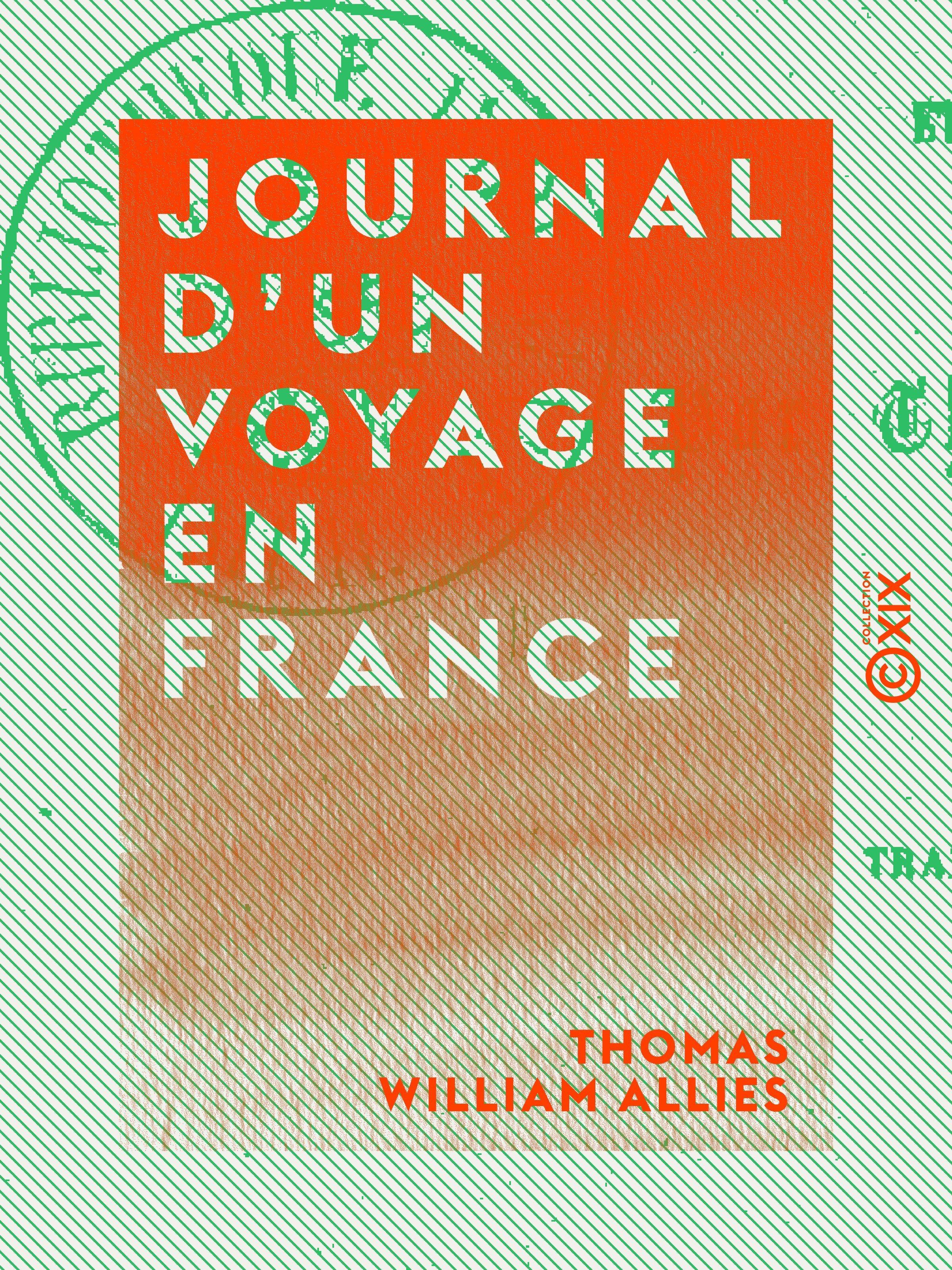 Journal d'un voyage en France