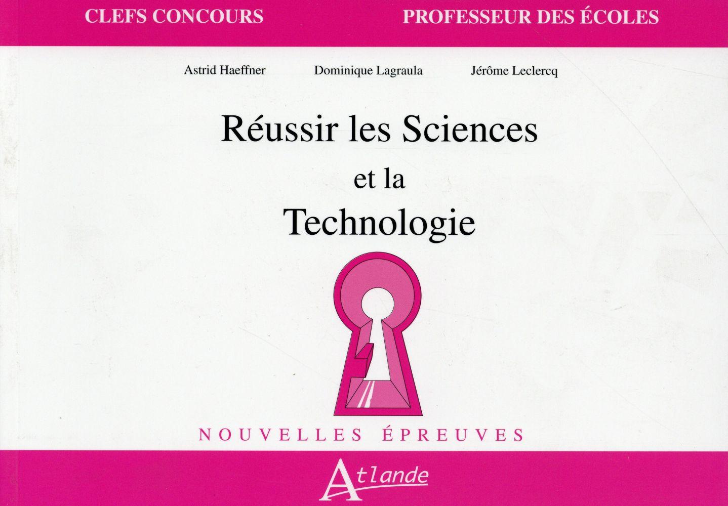 Réussir les sciences et technologie