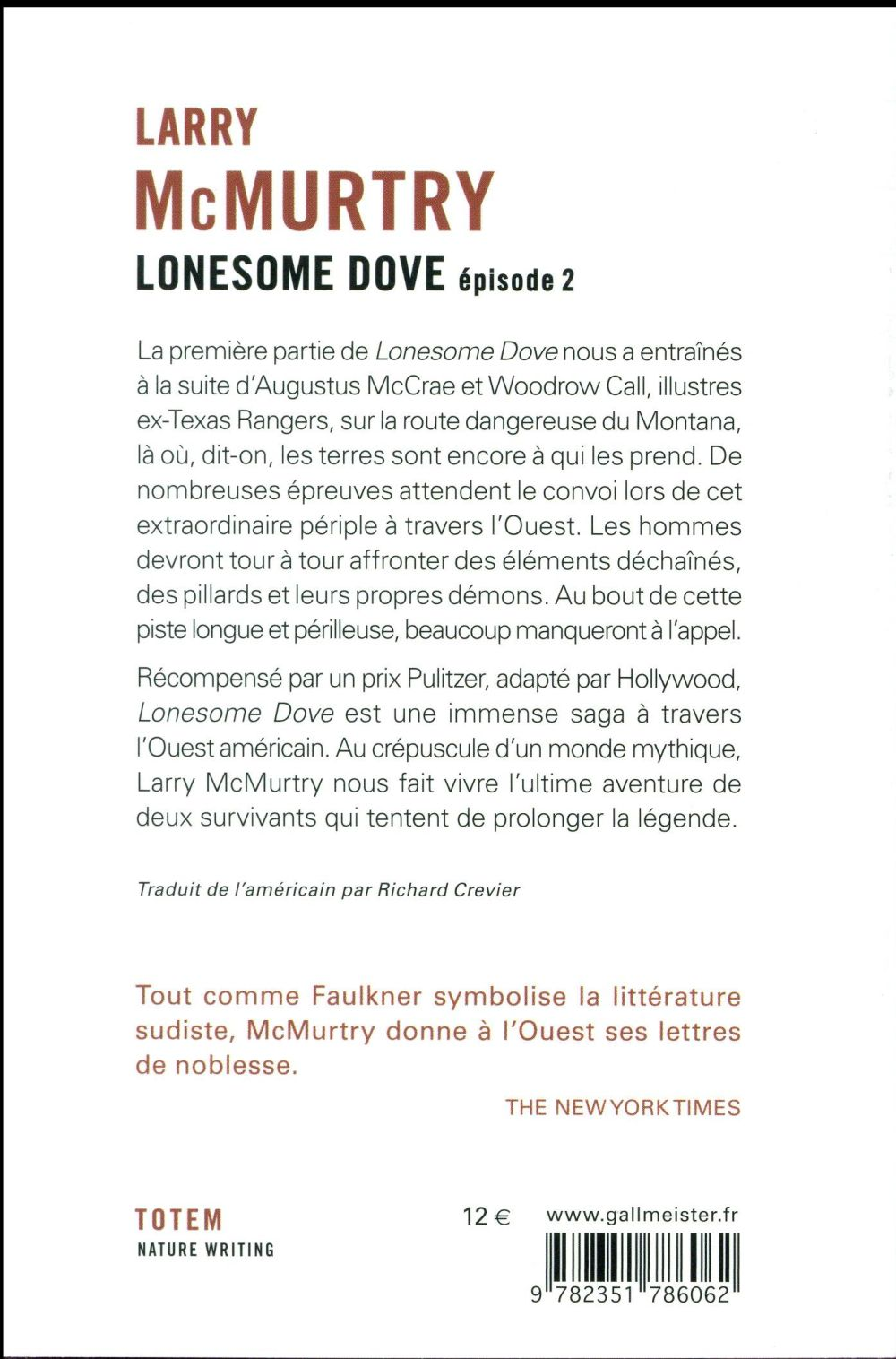 Lonesome Dove T.2