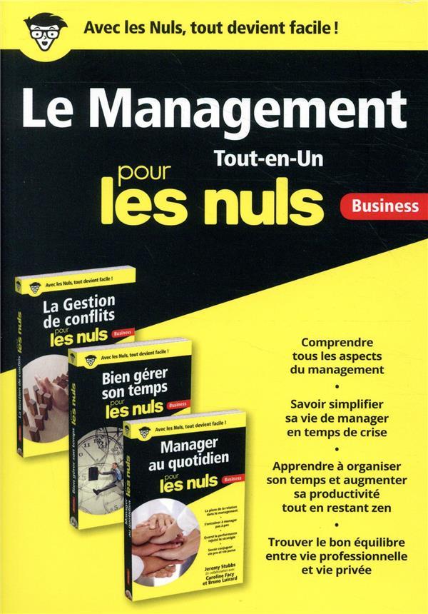 Le management tout-en-un pour les nuls ; business