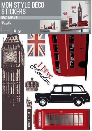 Mon style déco stickers XL ; Londres