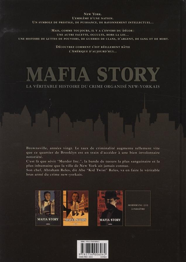 Mafia story t.3 ; murder Inc. t.1
