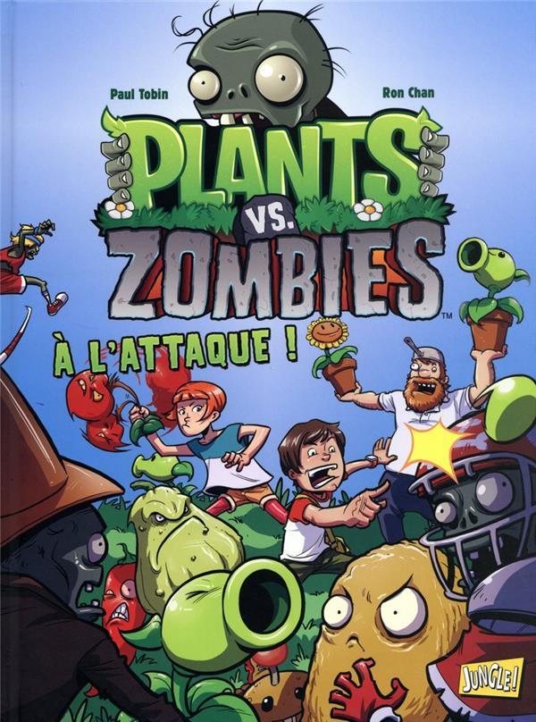 plants vs zombies t.1 ; à l'attaque !