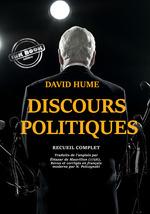 Vente Livre Numérique : Discours politiques  - David HUME