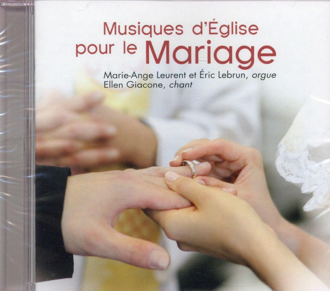 MUSIQUES D'EGLISE POUR LE MARIAGE