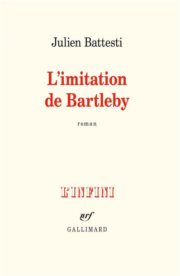 L'imitation de Bartleby