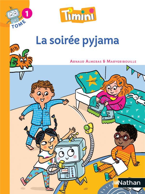 Timini T.1 ; la soirée pyjama ; CP (édition 2020)