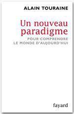 Vente Livre Numérique : Un nouveau paradigme  - Alain TOURAINE