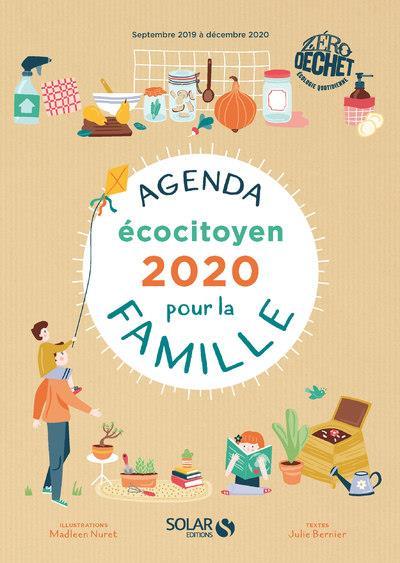 Agenda écocitoyen pour la famille zéro déchet (édition 2020)