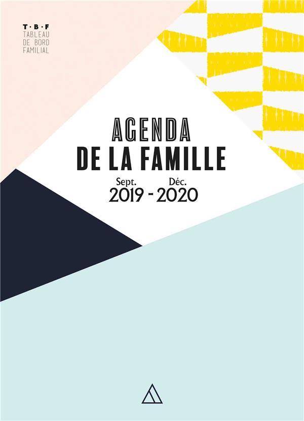 Tbf - agenda de la famille ; sept. 2019 / déc. 2020