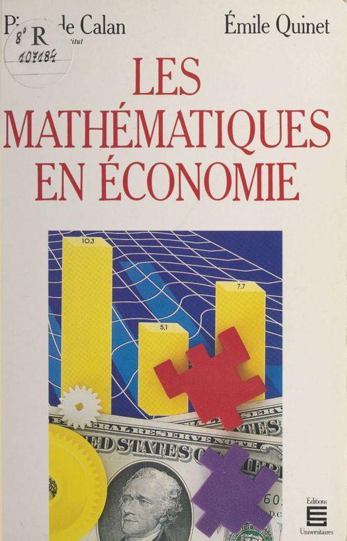 Mathematiques en economie