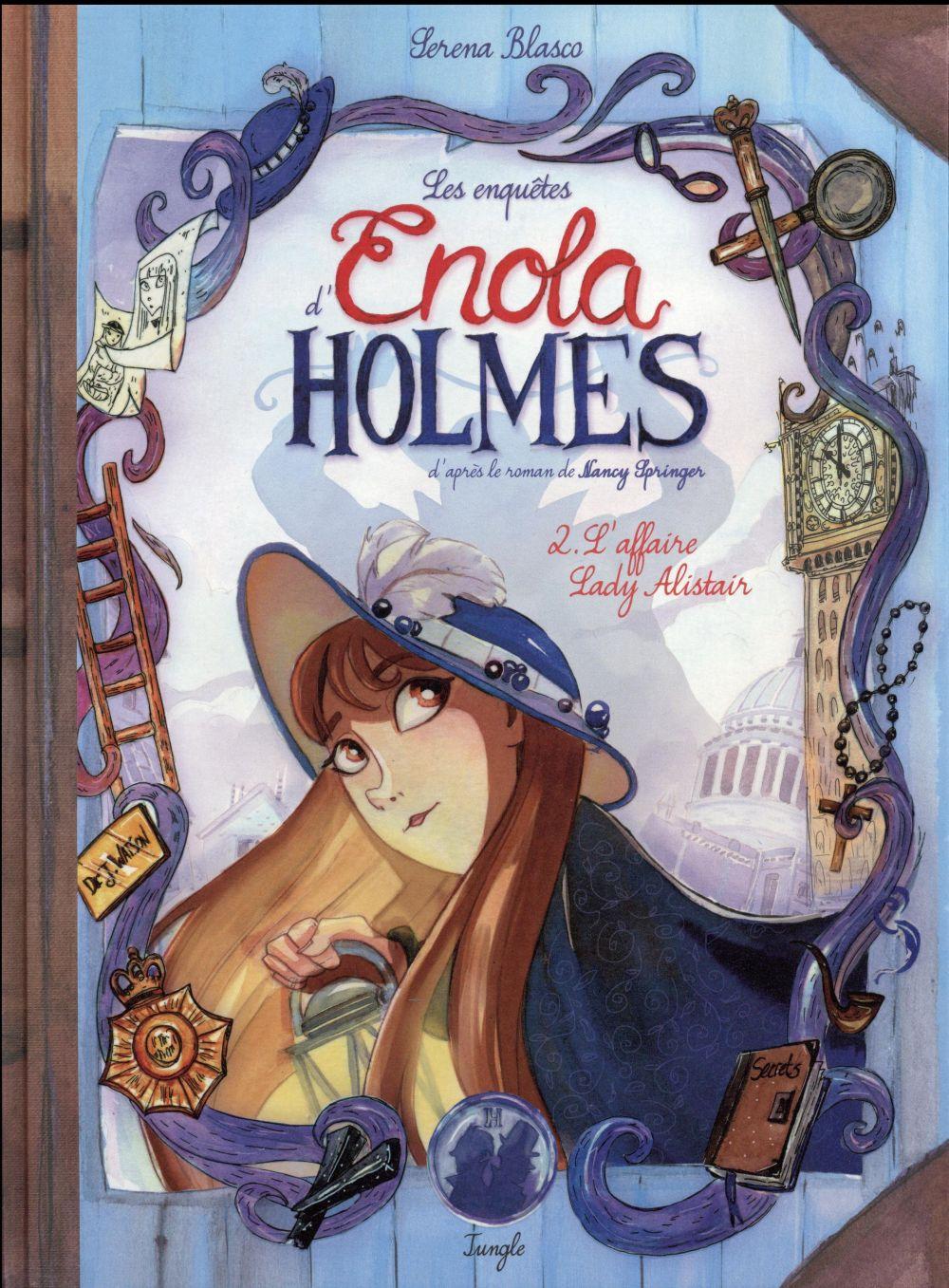 Les enquêtes d'Enola Holmes T.2 ; l'affaire lady Alistair
