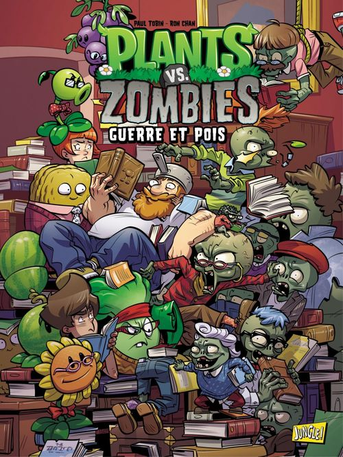 Plants vs zombies T.11 ; guerre et pois