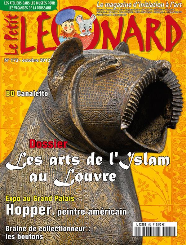 Le petit leonard t.173 ; les arts de l'islam au louvre
