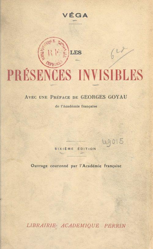 Les présences invisibles