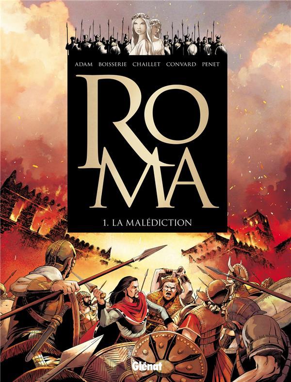 Roma T.1 ; la malédiction