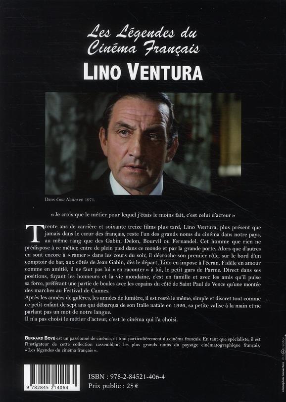 Les légendes du cinéma français : Lino Ventura