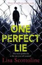 Vente Livre Numérique : One Perfect Lie  - Lisa Scottoline