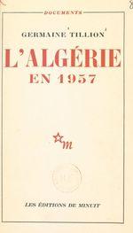 L'Algérie en 1957